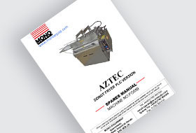 MONO Aztec Doughnut Fryer Spare Parts Manual