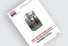 MONO MXT Eco-Touch Rack Oven User Manual