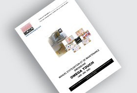 MONO Omega Touch Depositor User Manual (FR)