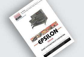 MONO Epsilon Tabletop Depositor User Manual (FR)
