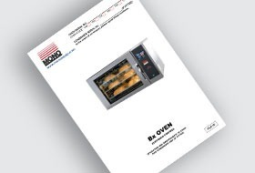 MONO BX Eco-Touch Oven User Manual