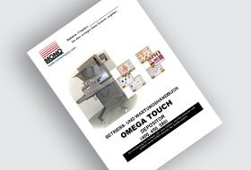 MONO Omega Touch Depositor User Manual (DE)