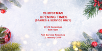 Christmas Opening  2017-2018