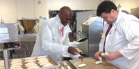 MONO's New African Sales Agent (bread production) Visits MONO' Test Bakery