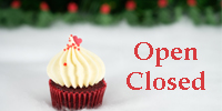 Christmas Opening Hours...